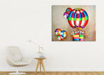 Balloons on the wall