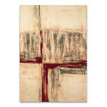 The Red Crossing Wall Art Print