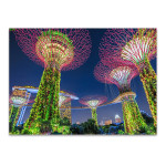 Gardens by the Bay Singapore Wall Print