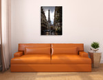 Paris Eiffel Tower Wall Art Print on the wall