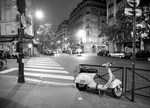 Paris France at Night Wall Art Print