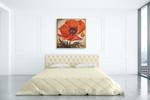 Poppy I Wall Art Print on the wall
