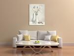 Willow Twigs Wall Art Print on the wall