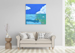 Brooke Howie | Blue Sky on the wall