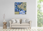 Brooke Howie | Yellow Floral Still Life on the wall