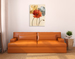 Poppy Palette I Wall Art Print on the wall