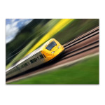 Fast Moving Train I Wall Print