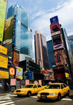 New York City Cab Wall Art Print