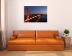 Golden Gate Bridge Wall Print on the wall