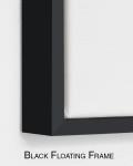 Half Moon | Framed Art Prints Hand Painted on Canvas