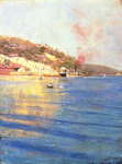 Streeton | The Point Wharf Mosman Bay