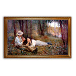 McCubbin | Bush Idyll The Flute Player