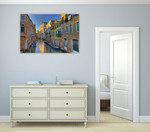 Venice Italy Water Wall Art Print on the wall