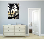 Clock of Orsay Museum I Wall Print on the wall