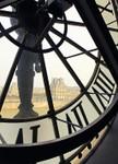 Clock of Orsay Museum I Wall Print