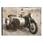 Ural Motorcycle I Wall Art Print