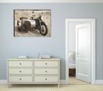 Ural Motorcycle I Wall Art Print on the wall