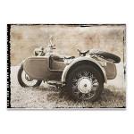 Ural Motorcycle II Wall Art Print