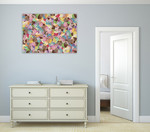 Cupcake Mania Wall Art Print on the wall