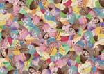 Cupcake Mania Wall Art Print