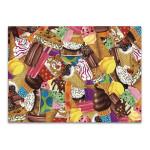 Ice Cream Collage Wall Art Print