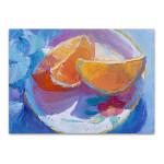 The Cut Oranges Wall Art Print