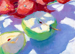 The Green Apples Wall Art Print