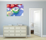 The Green Apples Wall Art Print on the wall