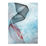 Abstract Spirograph II Wall Art Print