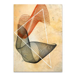 Abstract Spirograph III Wall Print