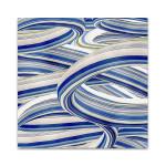 The Blue Swirls II Wall Art Print