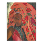 The Lady from Hareer I Wall Art Print