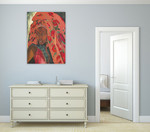 The Lady from Hareer I Wall Art Print on the wall