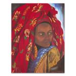 The Lady from Hareer II Wall Art Print