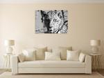 Wildlife Leopard Wall Art Print on the wall