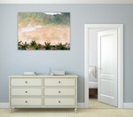 Caribbean Beach Wall Art Print on the wall