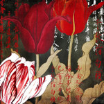 China Red II Wall Art Print