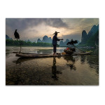 Li River Xingping China Wall Art Print