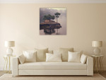 Mist of China Wall Art Print on the wall