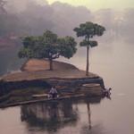 Mist of China Wall Art Print
