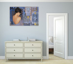 The Chinese Lady II Wall Art Print on the wall
