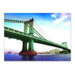 Manhattan Bridge New York Wall Art Print