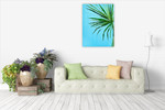 Palm Frond I Wall Art Print on the wall