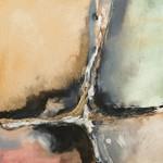 Gilded Crevice II Wall Art Print