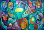 Cubism Abstract Wall Art Print