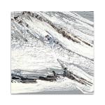 Gray Marble Wall Art Print