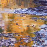 River Rocks and Reflections II Wall Art Print
