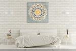 Mandala Delight I Wall Art Print on the wall