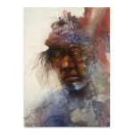 Native Indian Man Wall Art Print