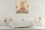 The Buddha I Wall Art Print on the wall